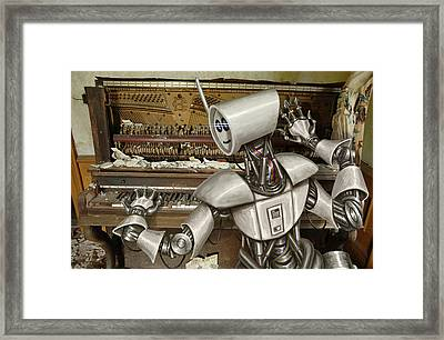 Chopsticks Framed Print by Mark Zelmer
