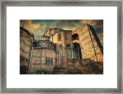 Chora Church Framed Print by Taylan Apukovska