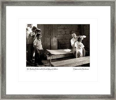 Chorti Maya Clinic Framed Print