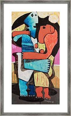 Chorum No. 1  Framed Print