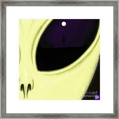 Chosen Framed Print by Andy Heavens