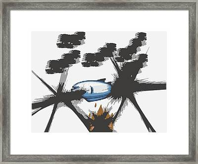 Chow Framed Print by Blaine Bernard