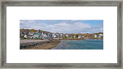 Chowdah House 0225 Framed Print by Guy Whiteley