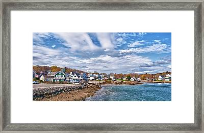 Chowdah House 0225h Framed Print by Guy Whiteley