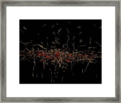 Chrion Framed Print by Abram Freitas