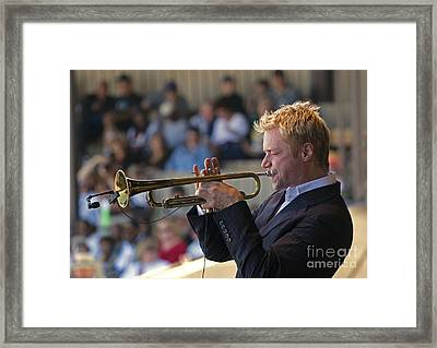 Chris Botti Framed Print