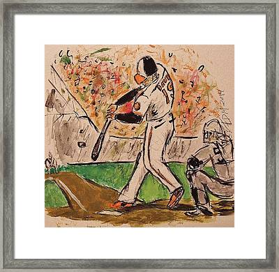 Chris Davis #19 Framed Print