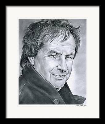 Pop Singer Drawings Framed Prints