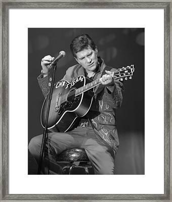Chris Isaak Framed Print