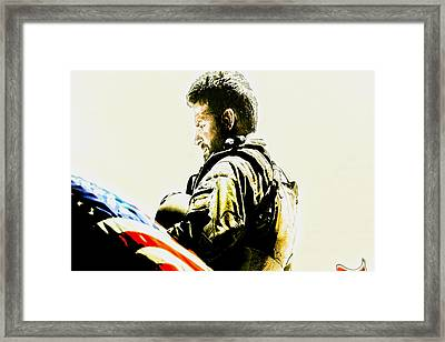 Chris Kyle Framed Print by Brian Reaves