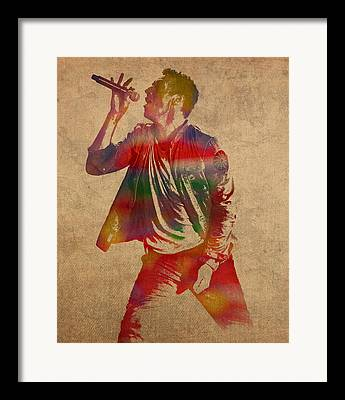 Coldplay Framed Prints