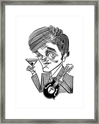 Chris Thile-punch Brothers Framed Print