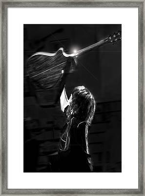 Chrissie Hynde Encore By Denise Dube Framed Print