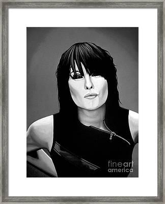 Chrissie Hynde Framed Print by Meijering Manupix