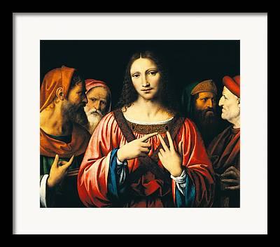 Fingers Of God Paintings Framed Prints