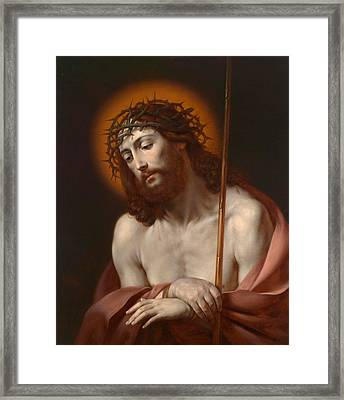 Christ As Man Of Sorrows Framed Print