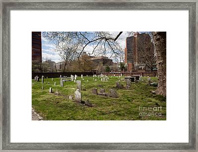 Christ Church Burial Ground Framed Print
