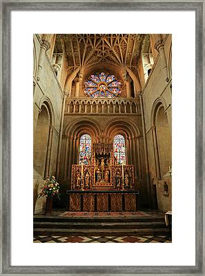 Christ Church Cathedral Altar Framed Print