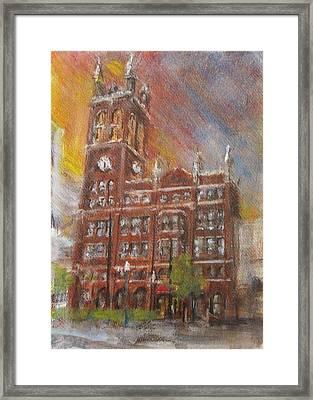 Christ Church Cathedral  Framed Print by Josh Hertzenberg