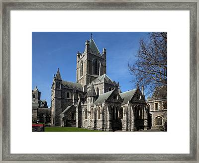 Christ Church Cathedral, Rebuilt Framed Print by Panoramic Images