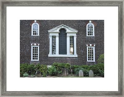 Christ Church Episcopal Iv Framed Print by Steven Ainsworth