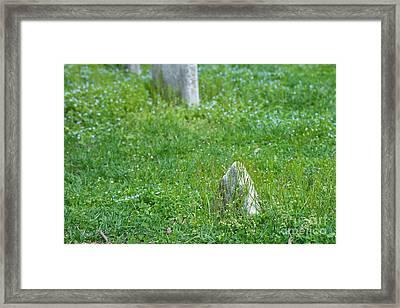 Christ Church Graveyard Framed Print