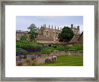 Christ Church In Spring Framed Print
