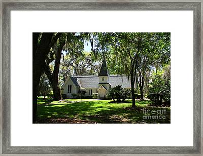 Christ Church St. Simmons Framed Print