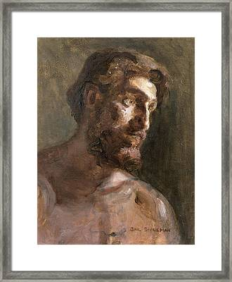 Christ Framed Print by Gail Schulman