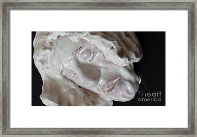 Christ In Gethsemane   Detail Framed Print