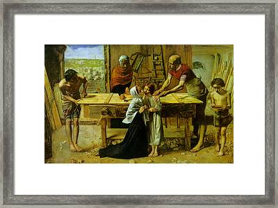 Christ In The House Of His Parents Framed Print