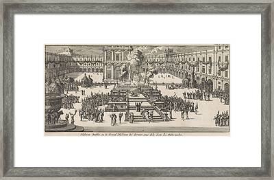 Christ On The Last Day Of The Feast Of Tabernacles Framed Print
