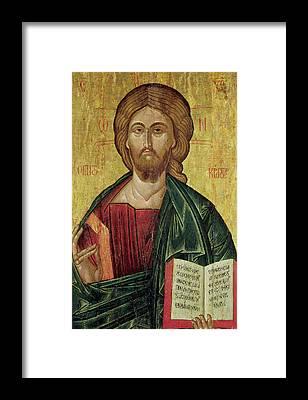 Byzantine Icon Framed Prints