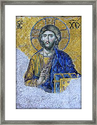 Christ Pantocrator II Framed Print by Stephen Stookey