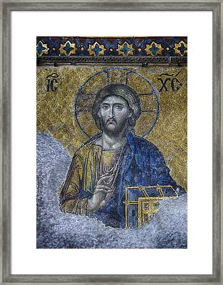 Christ Pantocrator IIi Framed Print by Stephen Stookey