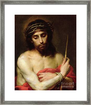 Christ The Man Of Sorrows Framed Print