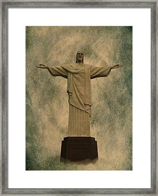 Christ The Redeemer Brazil Framed Print