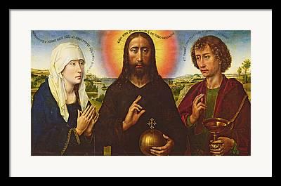 Rogier Van Der Weyden Framed Prints
