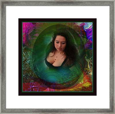 Christan I Framed Print