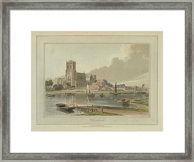 Christchurch Framed Print by British Library