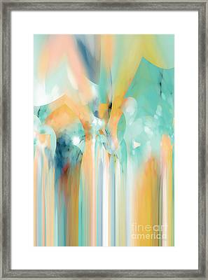 Christian Art- Angel By A Spring Of Water. Genesis 16 7 Framed Print by Mark Lawrence
