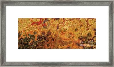 Christian Art- Apprehension. Luke 21 26  Framed Print by Mark Lawrence