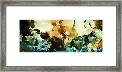 Christian Art- Great Power And Glory. Mark 13 26 Framed Print by Mark Lawrence