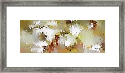 Christian Art- Patience. Luke 21 19  Framed Print by Mark Lawrence