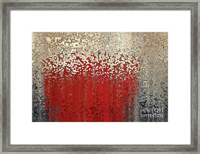 Christian Art- You Can't Do It Alone. Zechariah 4 6 Framed Print by Mark Lawrence