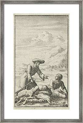 Christian Finds Simple, Sloth And Audacious Dormant Framed Print