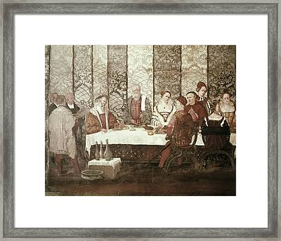 Christian I 1426-1481. King Of Denmark Framed Print by Everett