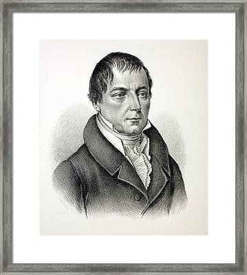 Christian Von Buch Framed Print by Paul D Stewart