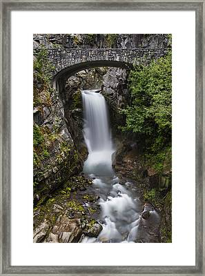 Christine Falls At Dusk Framed Print