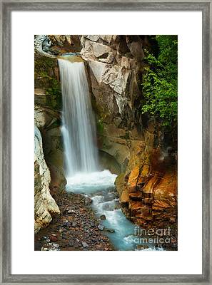 Christine Falls Framed Print by Inge Johnsson